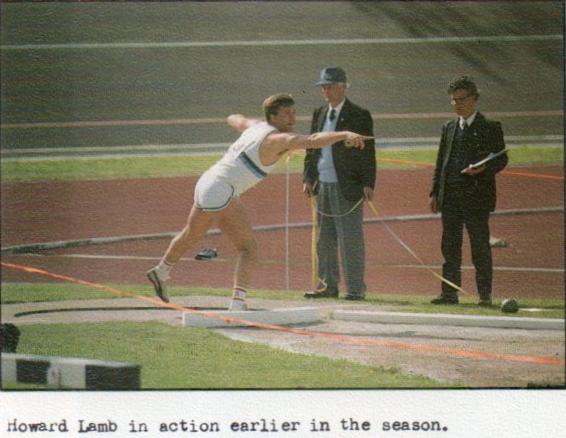 Howard Lamb - a true club athlete